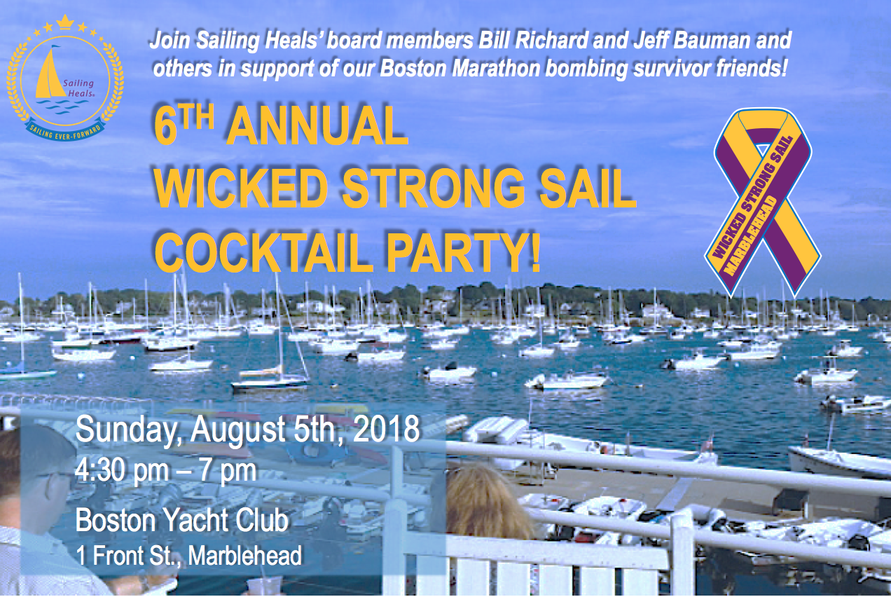 8/5/18 – 6th Annual Wicked Strong Sail Cocktail Party