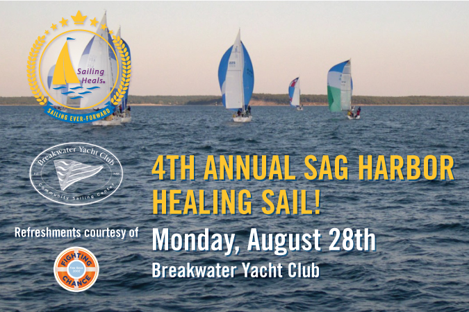08/28/17 – 4th Annual Sag Harbor Healing Sail!