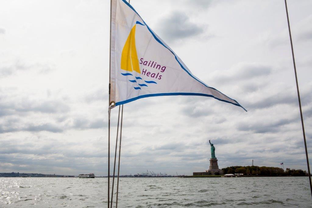 Sailing Heals Burgee