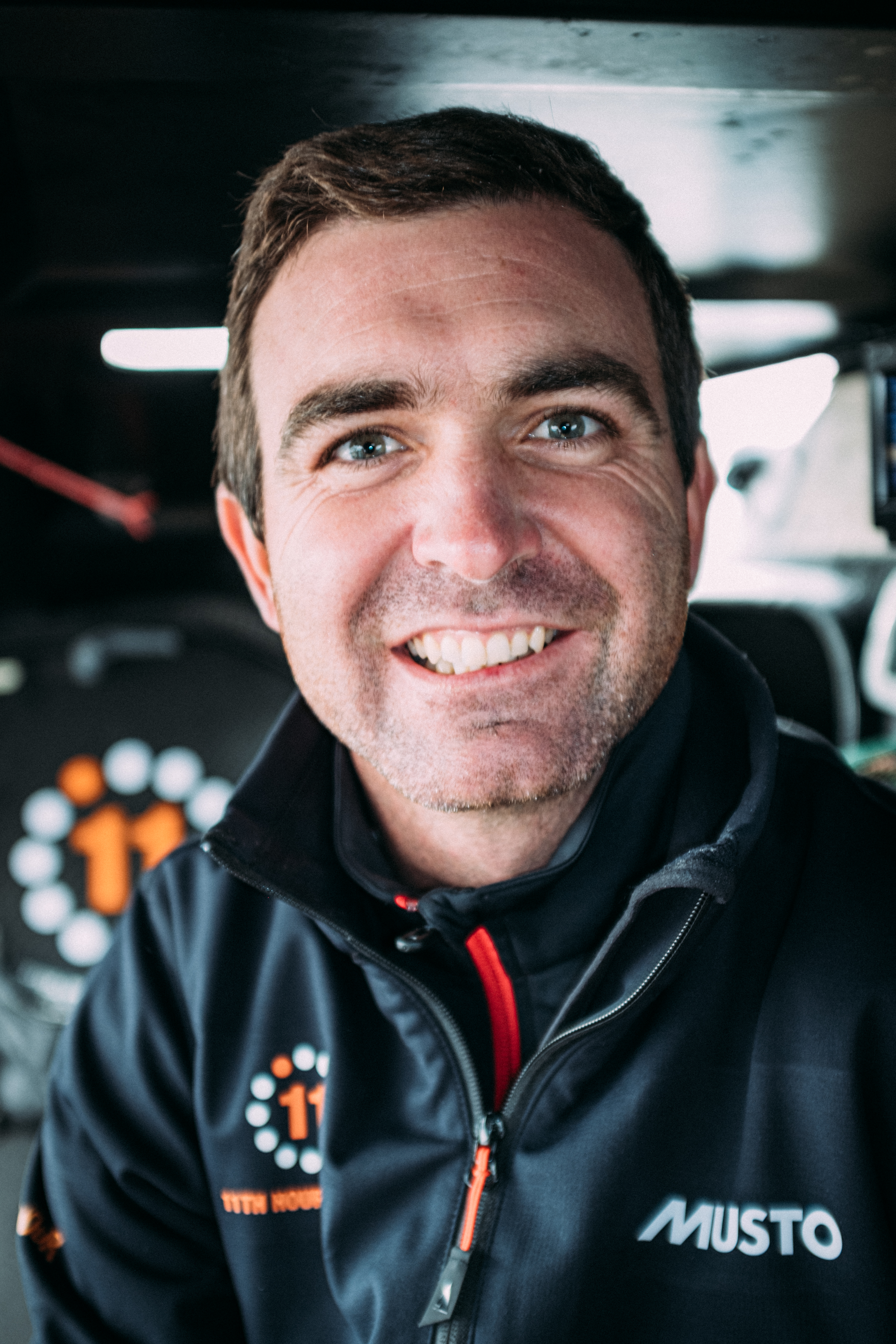 11th Hour Racing Team Member, Skipper and team Co-founder Charlie Enright