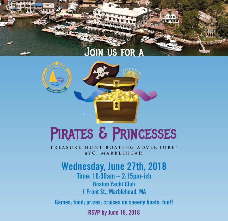 6.27.18 Pirates and Princesses Treasure Hunt Boating Adventure