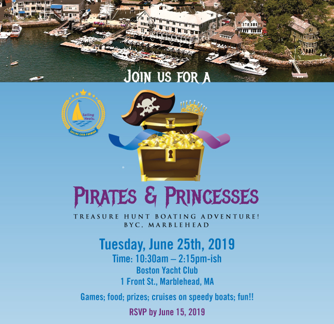 SailingHeals — 6 25 19 Pirates and Princesses Treasure Hunt