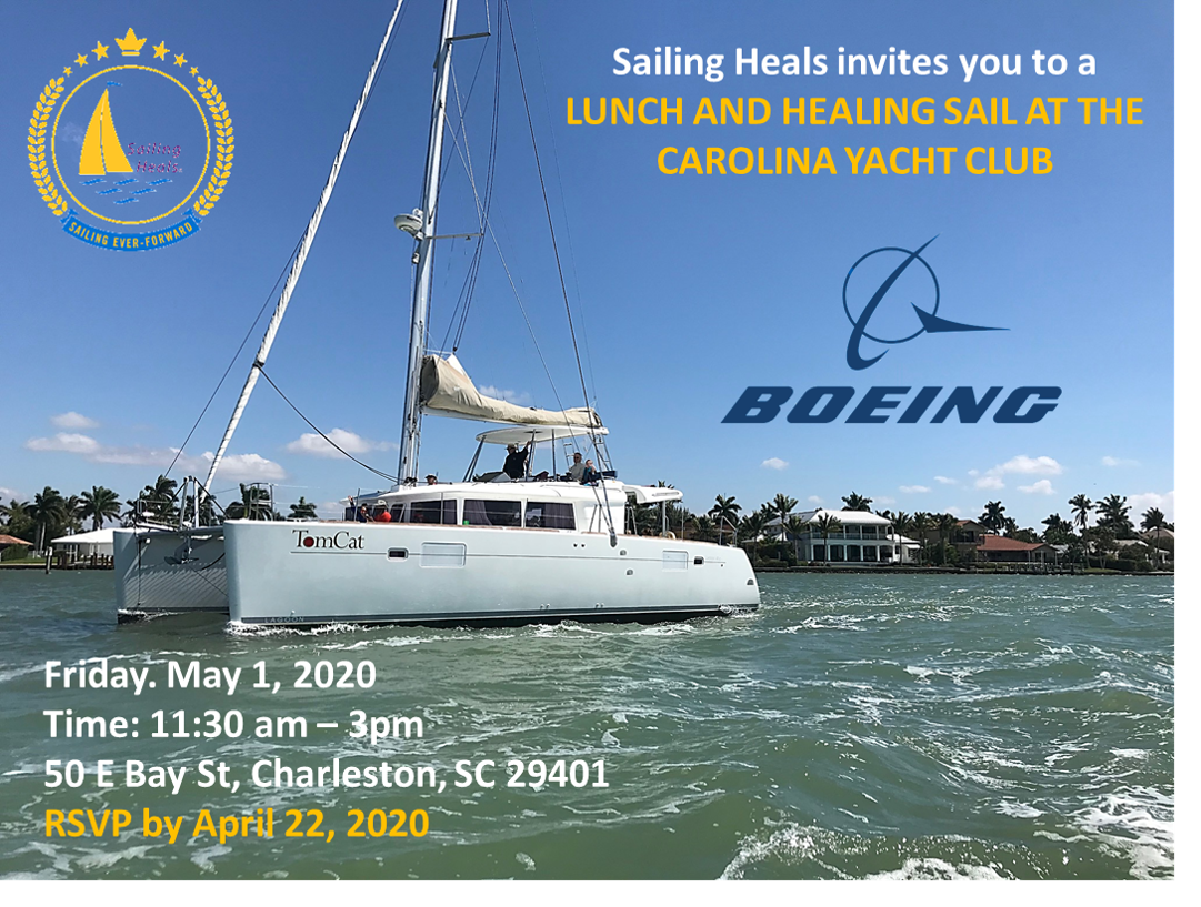 5.1.20 Carolina Yacht Club Lunch and Healing Sail