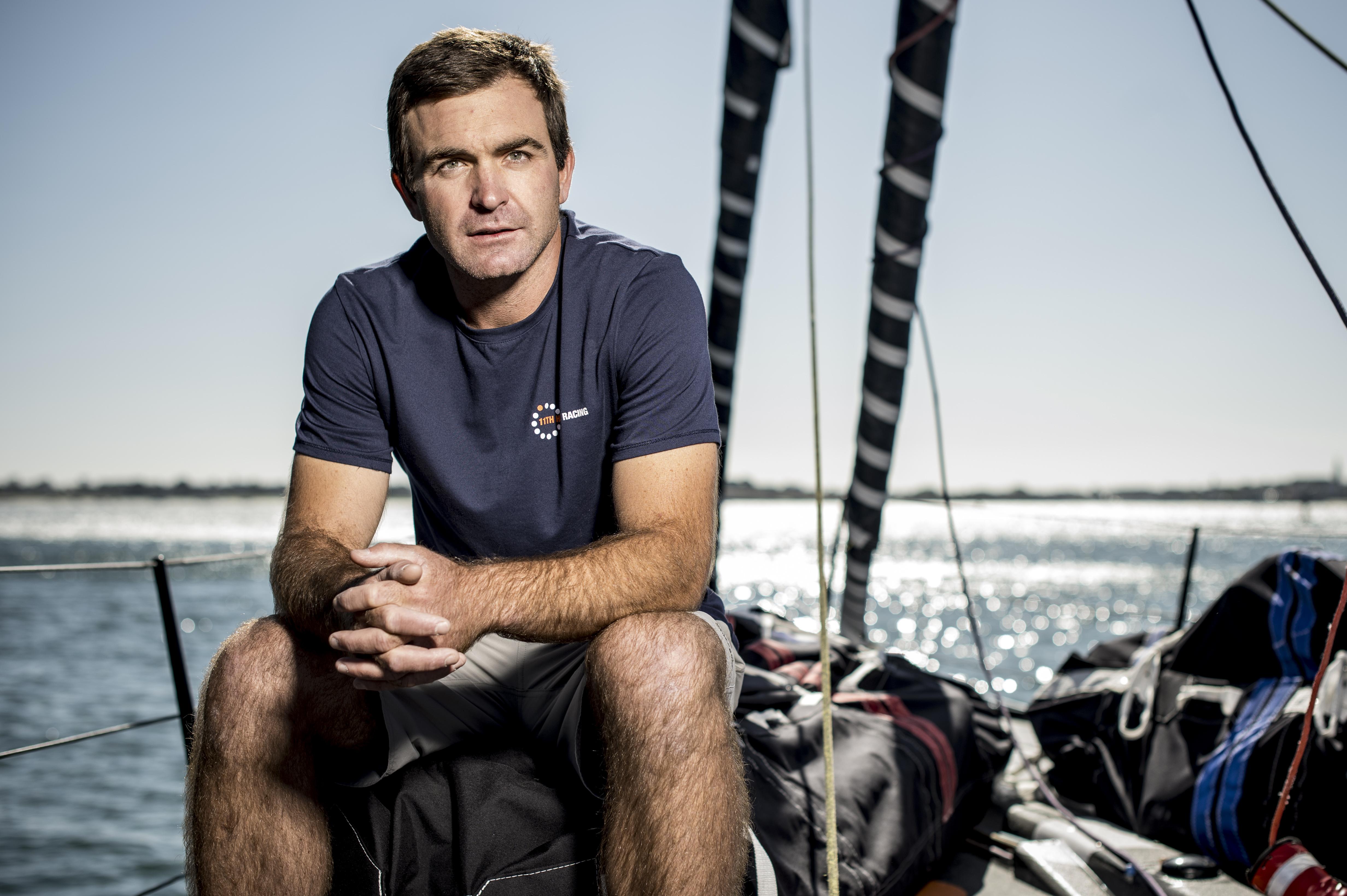 IMOCA Globe Series skipper portraits. Photo by Vincent Curutchet | IMOCA