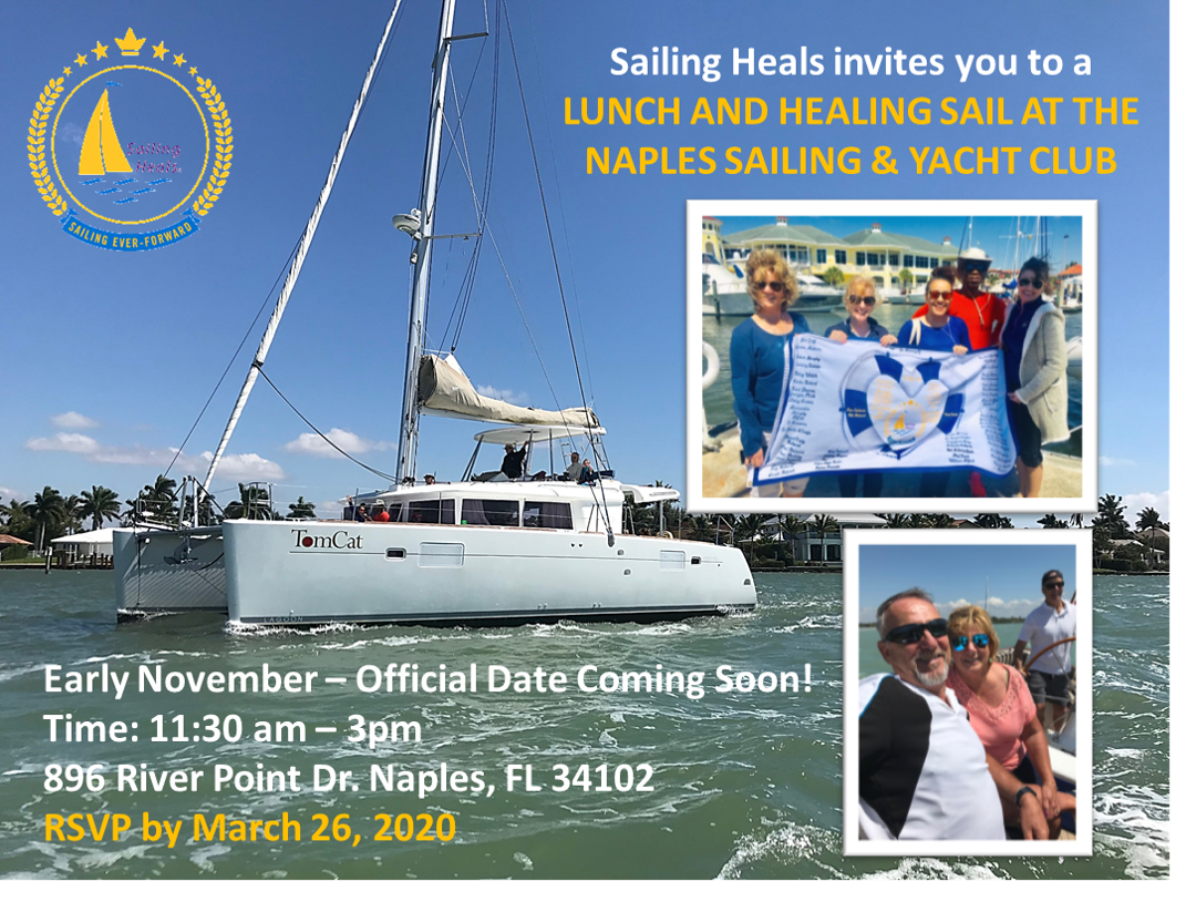 4.3.20 Naples Sailing and Yacht Club Lunch and Healing Sail