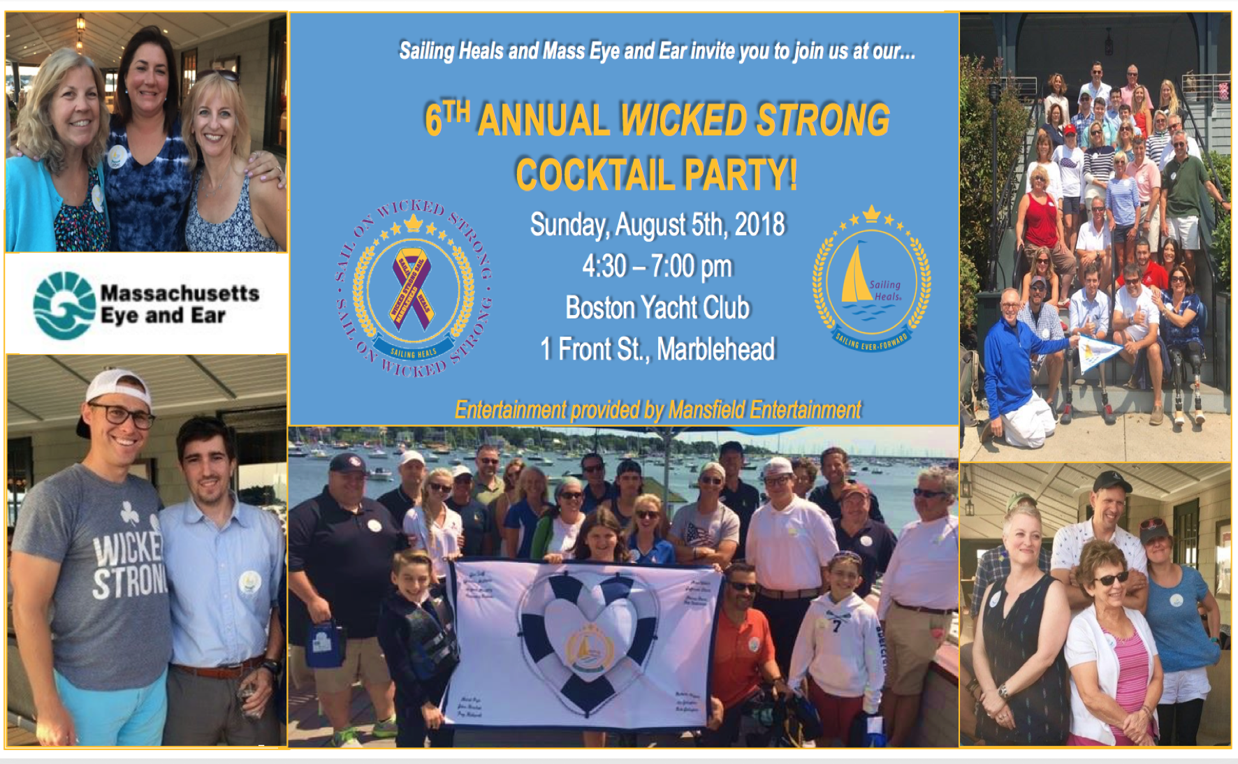 8/5/18 – 6th Annual Wicked Strong Cocktail Party