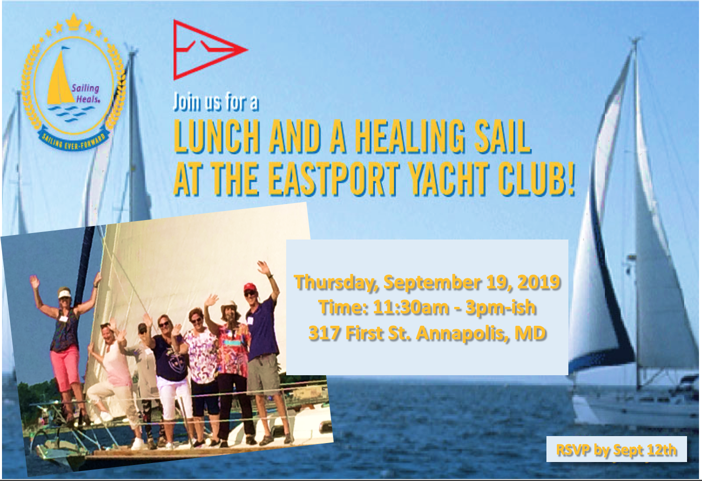 9.19.19 Eastport Lunch and Healing Sail