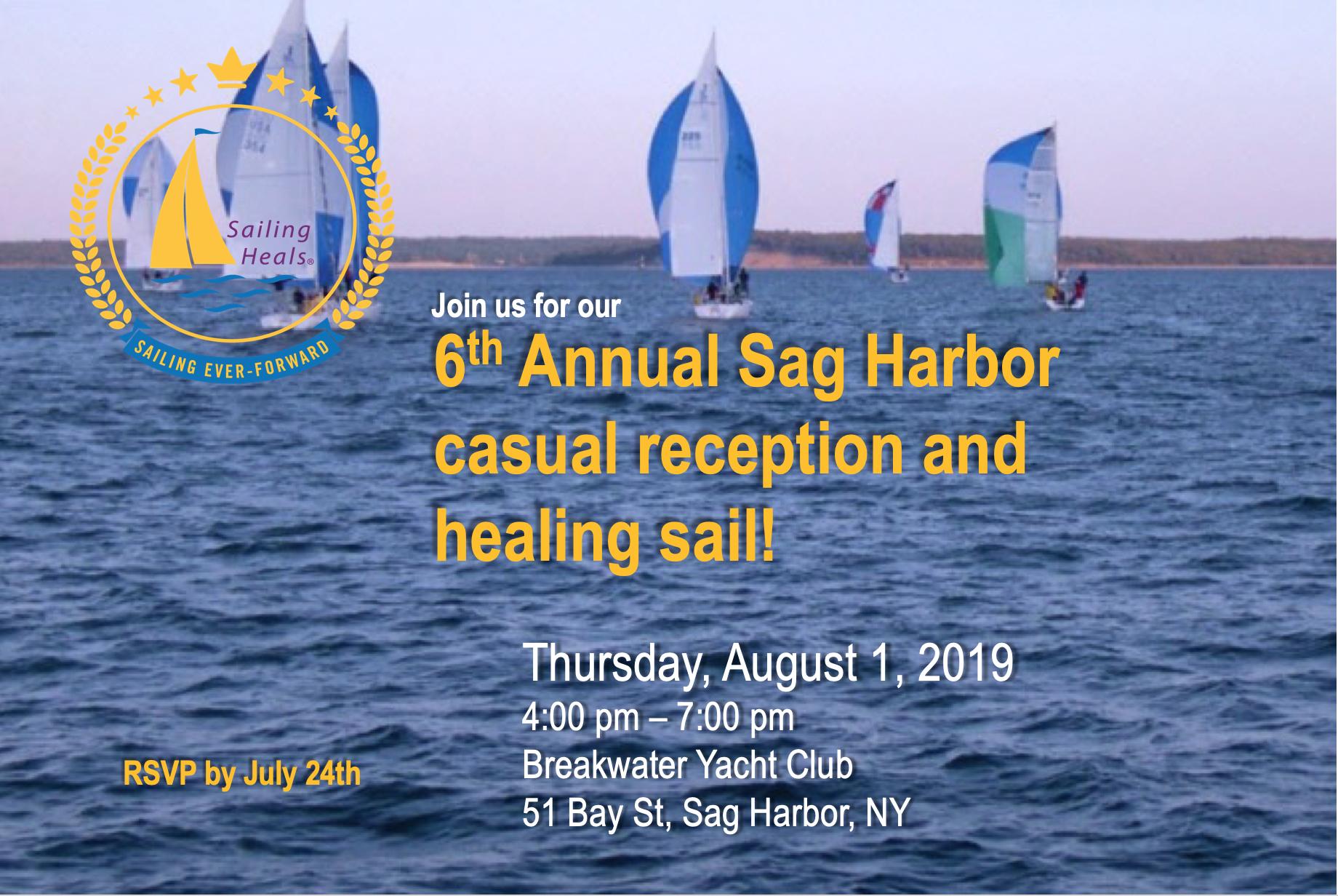 8.1.19 Sag Harbor Healing Sail