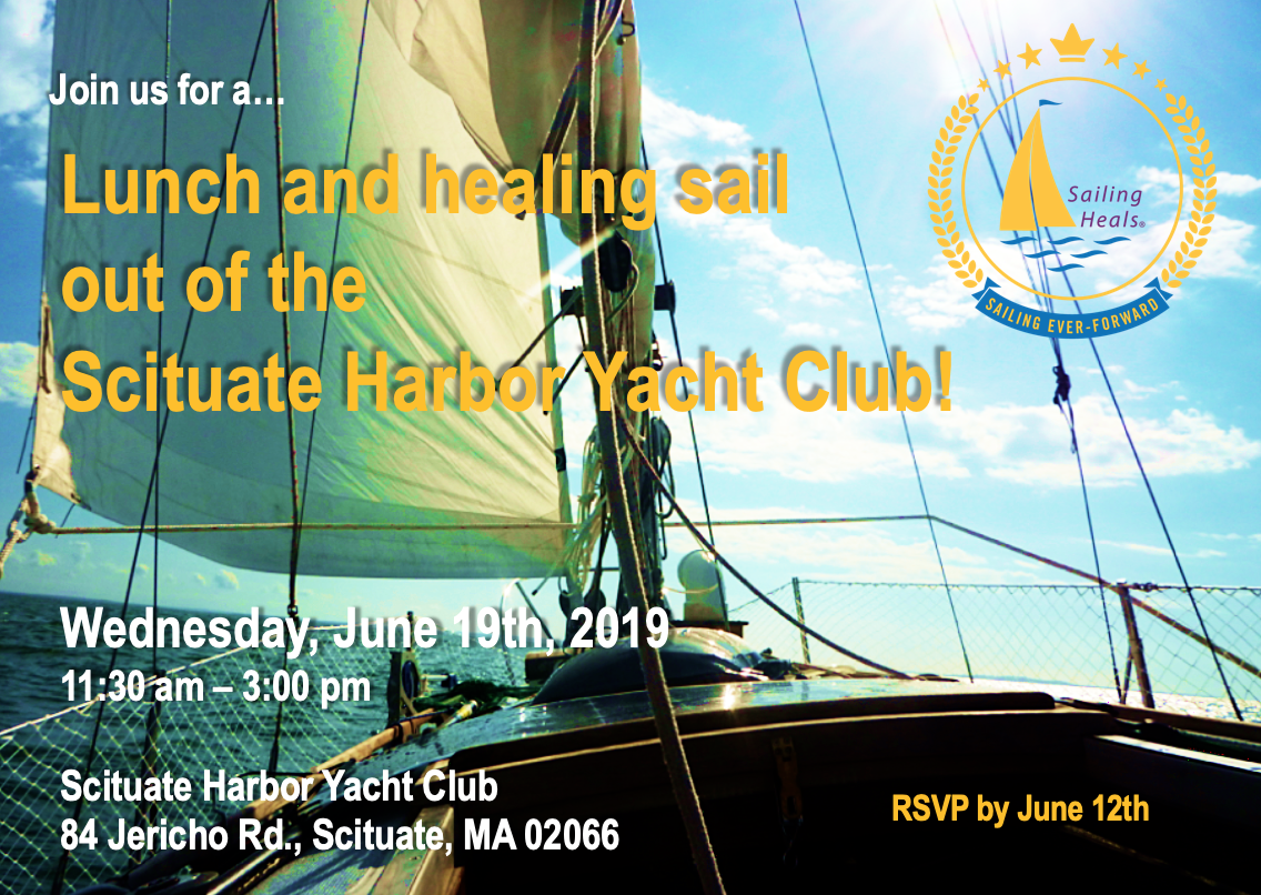 6.19.19 Scituate Harbor Lunch and Healing Sail