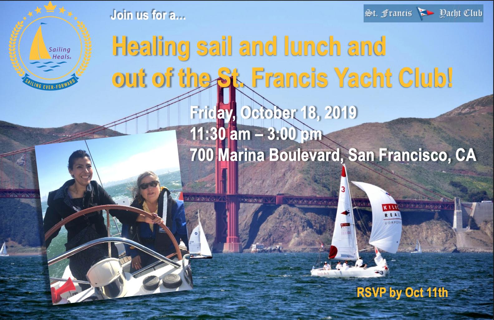10.18.19 St. Francis YC healing Sail