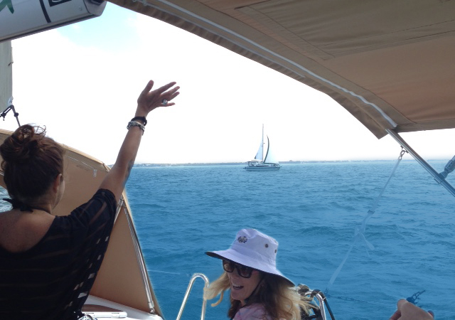3/7/16 – Miami Lunch and Healing Sail