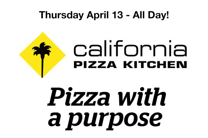Dine on 4/13 at CPK-Lynnfield & Help Sailing Heals!