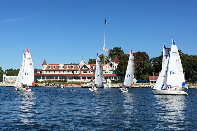 9/23/17 – Healing Sail and Lunch in Larchmont, NY