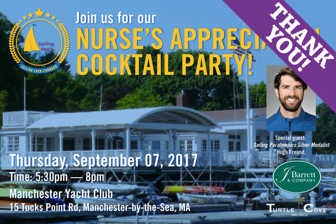 09/7/17 – Annual Nurse's Appreciation Cocktail Party